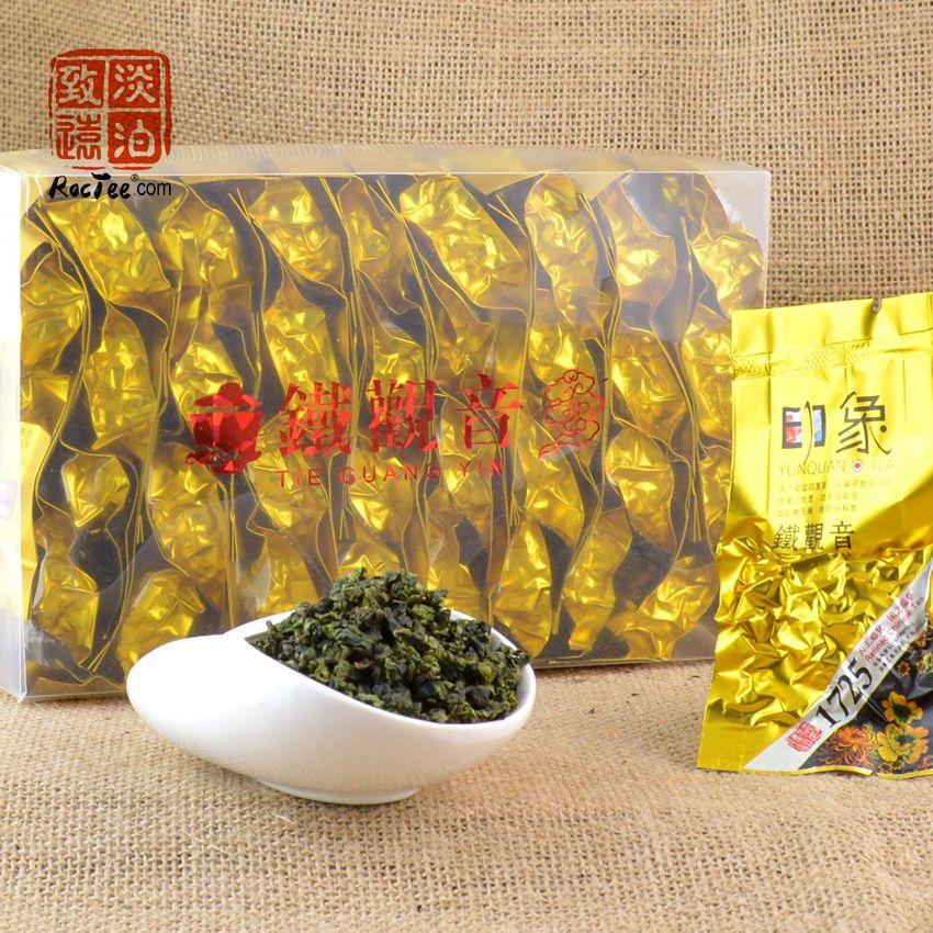530g Fresh Chinese Tieguanyin Oolong Tea High Quality Vacuum Package TiKuanYin Cha Promotion Organic Fragrance China Green Food от Aliexpress INT