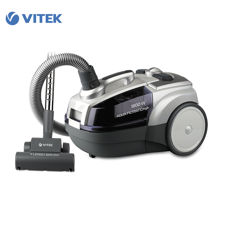 Vacuum Cleaner Vitek VT-1833 for home cyclone Home Portable household dustcollector dust collector dry cleaning water filter canister vacuum cleaner for home puppyoo p9 aspirator powerful suction 2200w cyclone portable household cleaning appliances