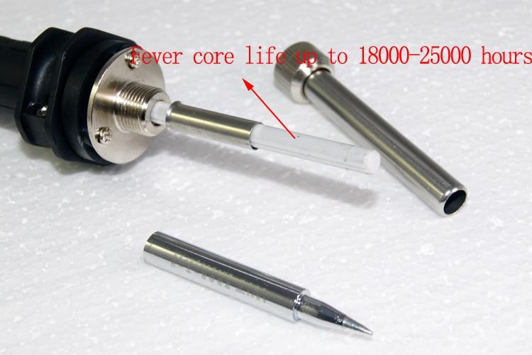 80 Вт/220 В WIT808 термостатический Регулируемый бессвинцовый Электрический инструмент для пайки, заменитель паяльной станции