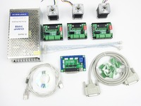 CNC Router Mach3 3 Axis Kit 3pcs TB6560 Driver 5 Axis Stepper Motor Controller 3pcs Nema17