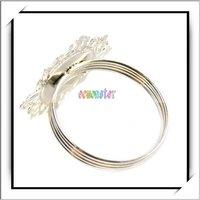 бесплатная доставка, 100 шт./лот белый салфетки кольца душ пользу, новый высокое качество и хорошая цена, j9017wh