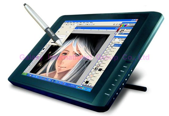 19in Professional Lcd Drawing Board Graphic Tablet Lcd Pen Display