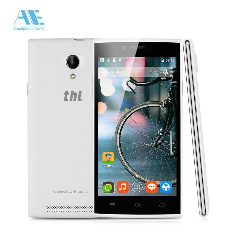 original thl t6c 5inch 854x480 smartphone android 5 1 1g ram 8g rom mtk6580m quad core mobile. Black Bedroom Furniture Sets. Home Design Ideas