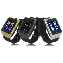 2016 New Arrival GPS font b Smartwatch b font Dual Core Capacitive Screen Watch Phone Support