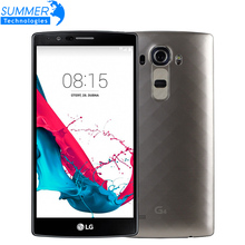 """Original Unlocked LG G4 H815 H810 Hexa Core Cell Phones 5.5"""" 3GB RAM 32GB ROM 16MP Leather Cover Refurbished Mobile Phone"""
