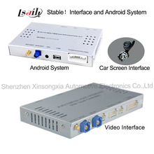 Android OS Navigation Video Interface for Audi A6L/S6/A8L/Q7/A4L/A5/Q5/Q3/A1 ( MMI 3G system)