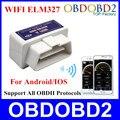 2016 ELM 327 WIFI Obd2 V1.5 Hardware Soporta Android y IOS Sistema WIFI ELM327 Apoya Todos Los Protocolos de OBDII En Stock