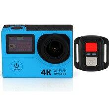 5 Шт./лот DHL Бесплатно H3R Действий Камеры Ultra HD 4 К Видео Спорт Камеры 170 Градусов Широкий Угол 2 «двойной Экран Камеры Дистанционного Управления