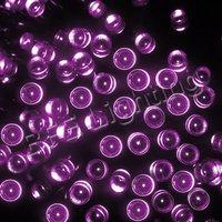 20 м 200 из светодиодов строки розовый солнечный свет фея елочные украшения с IP65