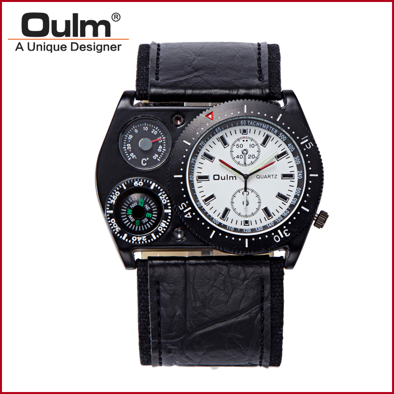 mens polshorloges oulm merk directe fabriek prijs pc21 quartz one - Herenhorloges - Foto 2