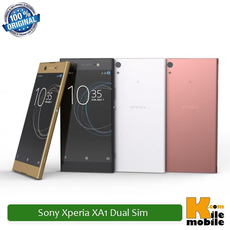 "Original Sony Xperia XA1 G3116 Dual Sim 5.0"" inch Helio P20 32GB ROM 3GB RAM 23MP LTE Smartphone"