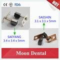 10 unids (5 Pairs) Original de Corea Del Sur las Escobillas De Carbón para SAEYANG y SAESHIN Micromotor Pieza de Mano Piezas y Accesorios Material Dental