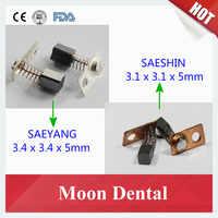 10pcs(5 Pairs) Original South Korea Carbon Brush for SAEYANG & SAESHIN Micromotor Handpiece Parts & Accessories Dental Material