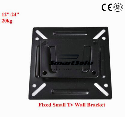 цена Free Shipping Vesa 200 Wall Mount Slim Fixed Monitor Wall Mount LED LCD TV Display Screen