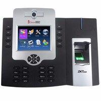Бесплатная доставка IClock 880 отпечаток времени записи системы биометрического время посещения/время посещения