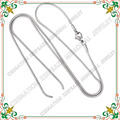CJC0001 Advanced jewelry circular single stranded snake chain necklace women DIY exquisite jewelry wholesale