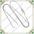 CJC0001 Avanzada circular de la joyería de cadena simple collar de cadena de serpiente mujeres DIY joyería al por mayor exquisito