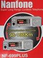 Nanfone NF-699PLUS comunicação de telefone sem fio de longo alcance 48 - 120 km wilress pbx sistema