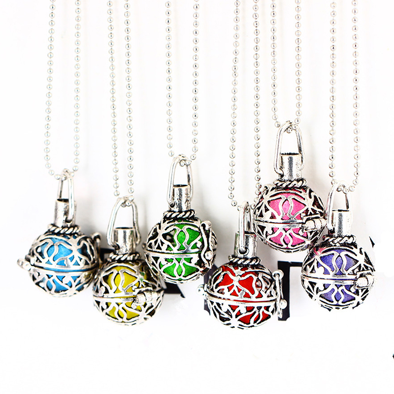 Funique hollow out aromatherapy necklace women aroma perfume funique hollow out aromatherapy necklace women aroma perfume pendant necklace essential oil necklace for women jewelry in pendant necklaces from jewelry aloadofball Gallery