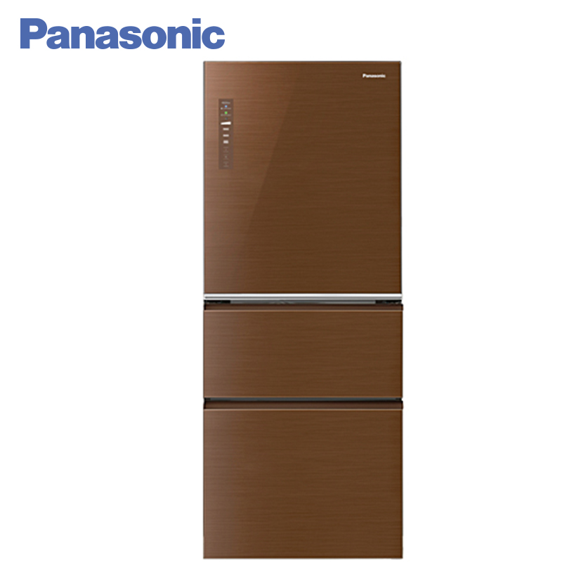 Panasonic NR-C535YG-T8 Refrigerator Fully extractable trays Saving power without effort Clean air in all departments panasonic nr b510tg t8 refrigerator touch control panel the new generation econavi light sensor intelligent inverter