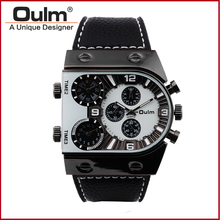 times square quartz watches, alibaba express waches, oulm hot men watches oulm 3 movt dial