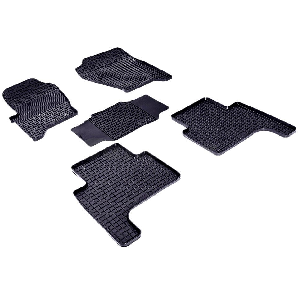 цена на Rubber grid floor mats for Land Rover Range Rover Sport 2005-2013 Seintex 84924