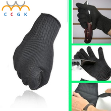 anti-cut aramid fiber Protect Stainless Steel Wire Safety Gloves Cut Anti-cutting breathable Work Gloves schnittschutzhandschuhe