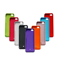 2200mAh External Backup Battery Case Extended Rechargeable Power Bank Cover Charger For IPhone 5 5s