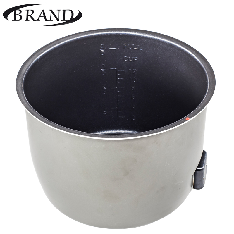Inner pot 6060 (heating) bowl pan for multivarka electric pressure smoker cooker with heating element, non stick coating, 6L toaks ckw 1600 1600ml titanium pot with pan