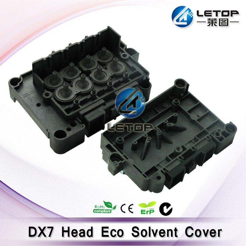 Dx7 Éco Imprimante Solvant Tête D'impression Adaptateur dx7 tête d'impression couverture