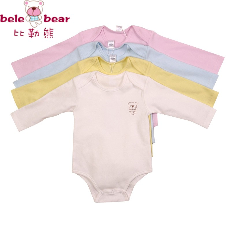 belebear clothes baby girl boy jumpsuits Long-sleeves bodysuits 100% cotton  baby clothing winter and autumn repmer