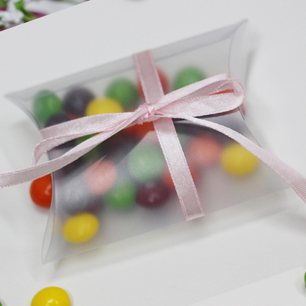 Ideas Wedding Gift Boxes For Guests frosted gift boxes promotion shop for promotional 50pcs plastic pillow favour box wedding party candy matte pvc material guests