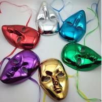 2017 White Painted Hip-hop Mask Full Face Masks Women Halloween Masquerade Venice Mask Party Supplies