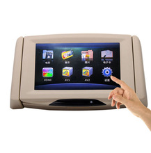 2016 new arrival Car headrest monitor display 9 inch display screen Support SD and Two video input,car styling
