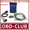 New Vauxhall/opel/g.m- MDI Tech 3 OEM Level Multiple Diagnostic Interface mdi scanner support Global + TIS GDS Tech2Win software