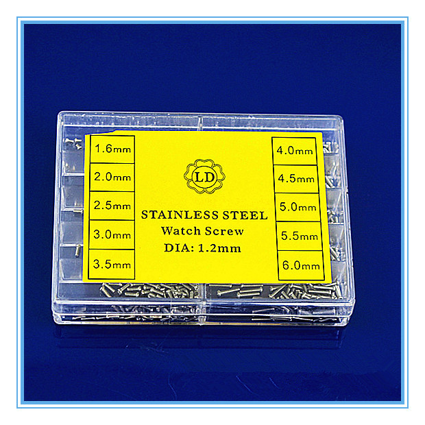 1 комплект высококачественные детали часов-нержавеющая сталь винт ремонт часов часть-715016