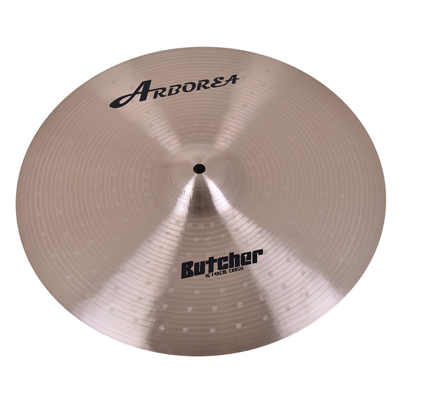 100% Manual Butcher series 16 Crash cymbals/ Dishes100% Manual Butcher series 16 Crash cymbals/ Dishes