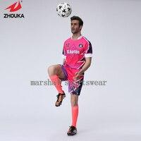100% polyester, voll sublimation benutzerdefinierte fußball jersey, machen sie ihren eigenen jersey, trainingsanzug thailand fußball shirts camisas de futebol