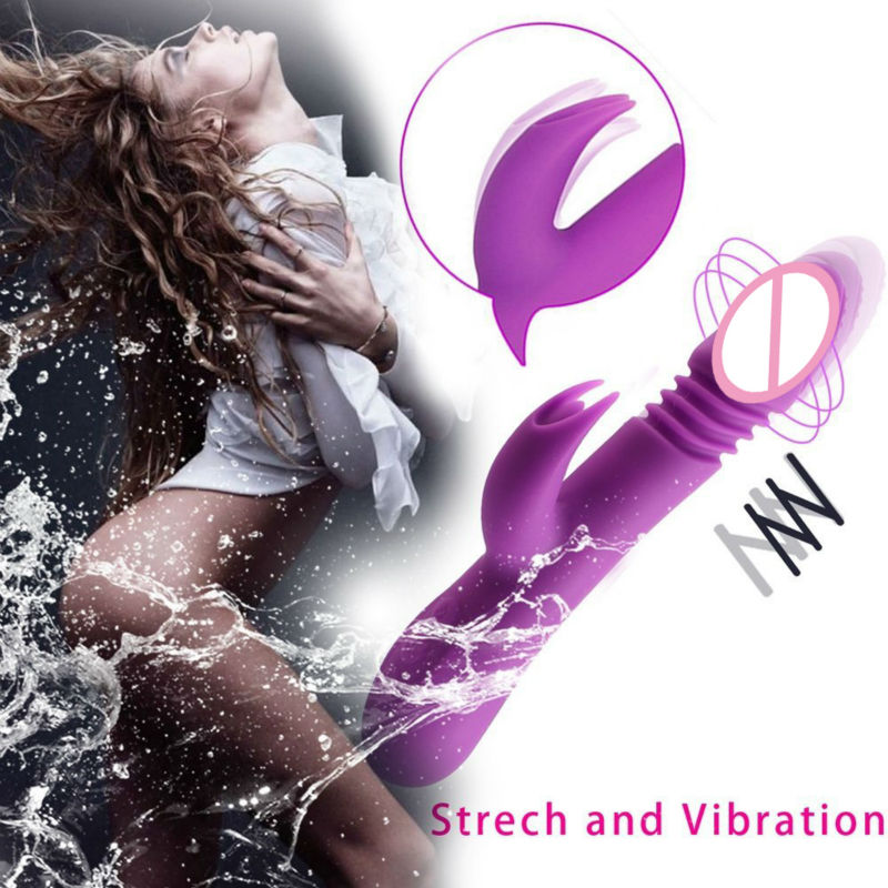 Ella Vibrating Rod Automatic Sex Toys Terbaru