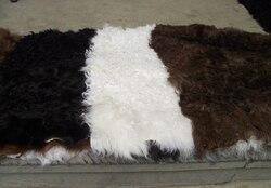 Beautiful Tibet Lamb Fur plates/High Quality Tibet Lamb Fur plates