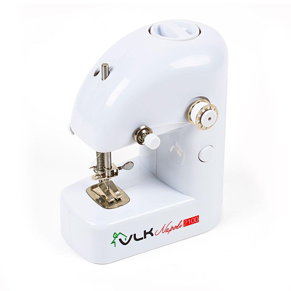 Sewing machine VLK Napoli 2100 hand press manual powered traveller s mini sewing machine