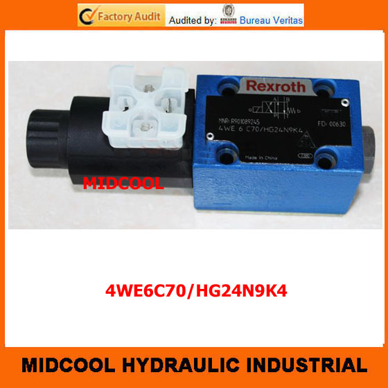 high quality hydraulic valve 4WE6C70/HG24N9K4