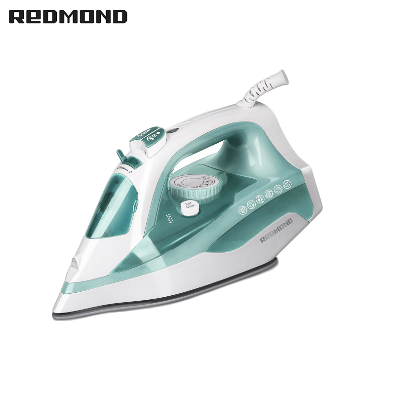 Iron REDMOND RI-C222  for ironing irons steam Household for Clothes Selfcleaning Burst of Steam electriciron professional 450f ceramic vapor steam hair straightener with argan oil infusion steam flat iron ceramic vapor fast heating iron