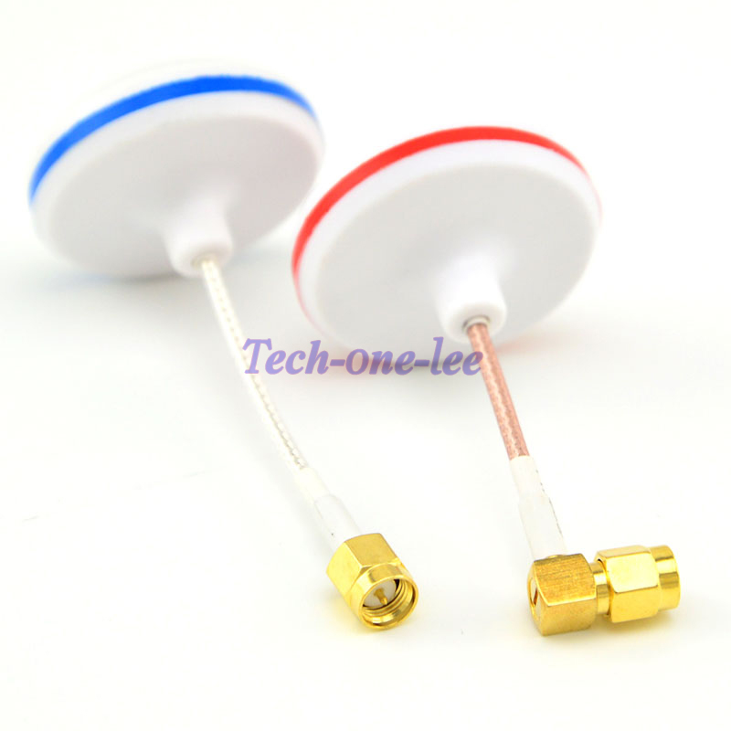 2 Pcs/ Lot 5.8G Mushroom Antenna Circular Polarized For 5.8 GHz Bifrequency For FPV TX RX SMA Aerial
