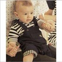 в розницу мальчик футболки подтяжки брюки детская одежда футболки ребенок нагрудник полукомбинезона костюм футболки брюки