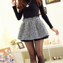 Women's Casual Skirts , Nylon Micro-elastic Multi-color/Black NC010
