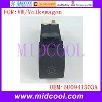 New Headlight Head Light Lamp Switch Use OE NO 6U0941503A For Skoda Felicia