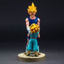 Dragon Ball Z Super Saiyan Vegeta and Trunks Action Figure