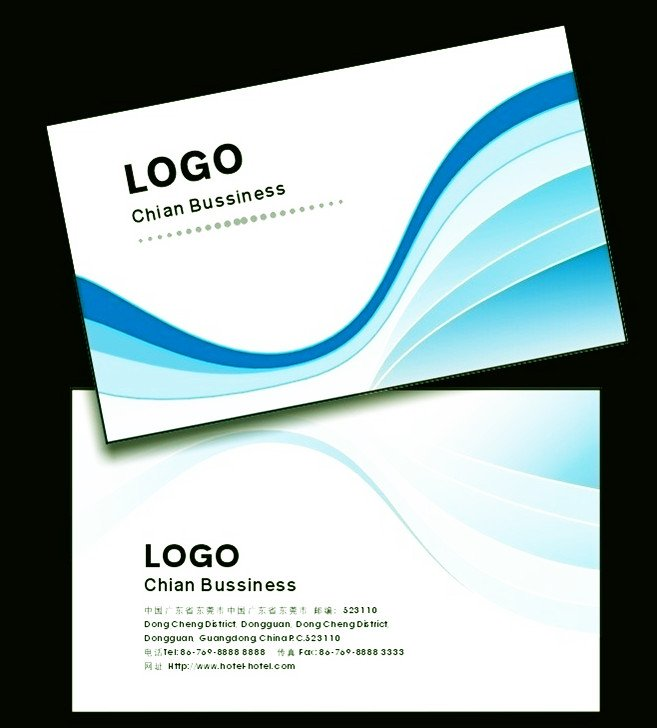 office visiting card