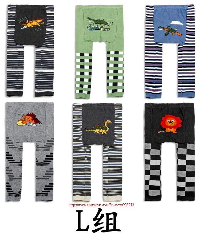 3 шт./партия-детские леггинсы/штаны с рисунком животных